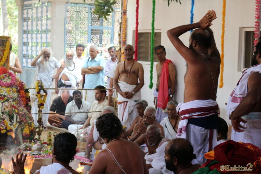 インド・ティルバンナマライのラマナアシュラム
