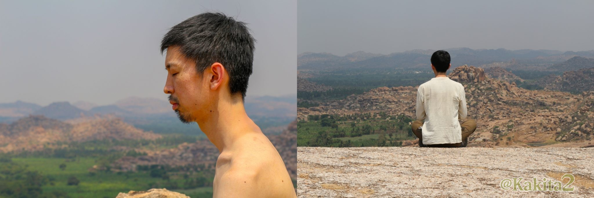 アカシックリーダー柿谷 英樹、インドでの写真