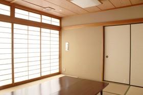 会場の和室